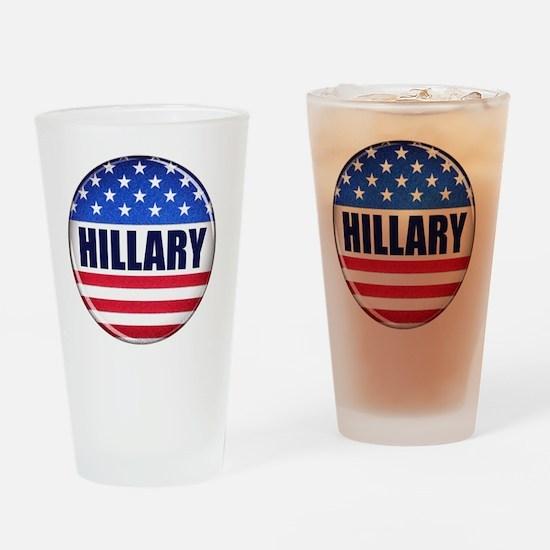 Vote Hillary 2016 Drinking Glass
