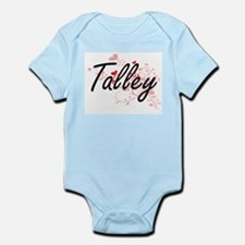Talley Artistic Design with Hearts Body Suit