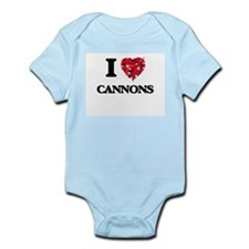 I love Cannons Body Suit