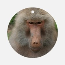 See You Soon, Baboon Ornament (Round)