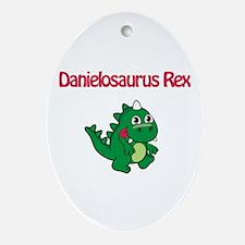 Danielosaurus Rex Oval Ornament