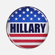 Vote Hillary 2016 Ornament (Round)