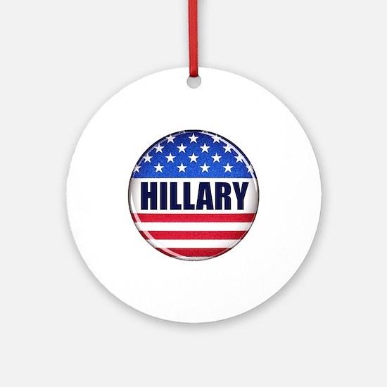 Vote Hillary 2016 Ornament (Round)