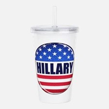 Vote Hillary 2016 Acrylic Double-wall Tumbler