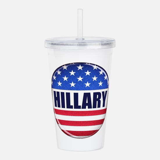 Vote Hillary 2016 Acrylic Double-wall Tumbler