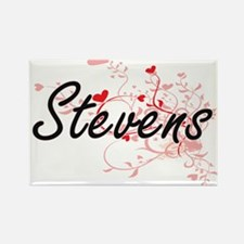 Stevens Artistic Design with Hearts Magnets