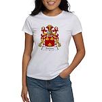 Bardon Family Crest Women's T-Shirt