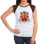 Bardon Family Crest Women's Cap Sleeve T-Shirt