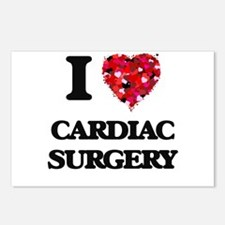 I love Cardiac Surgery Postcards (Package of 8)
