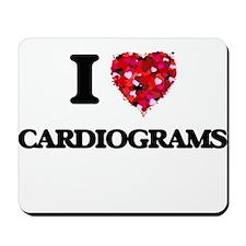 I love Cardiograms Mousepad