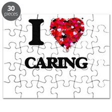 I love Caring Puzzle