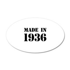 Made in 1936 Wall Sticker