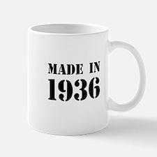 Made in 1936 Mugs