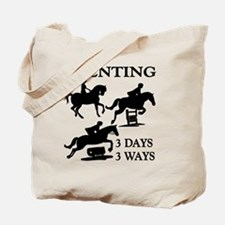 EVENTING 3 Day 3 Ways Tote Bag