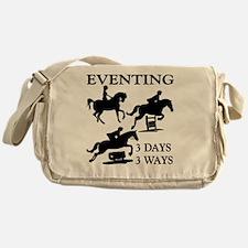 EVENTING 3 Day 3 Ways Messenger Bag