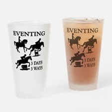 EVENTING 3 Day 3 Ways Drinking Glass