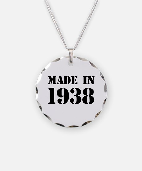 Made in 1938 Necklace