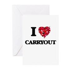 I love Carryout Greeting Cards