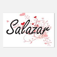 Salazar Artistic Design w Postcards (Package of 8)