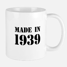 Made in 1939 Mugs