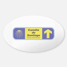 Camino de Santiago, Spain Decal