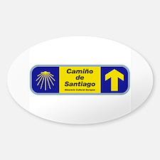 Camino de Santiago, Spain Sticker (Oval)