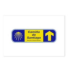 Camino de Santiago, Spain Postcards (Package of 8)