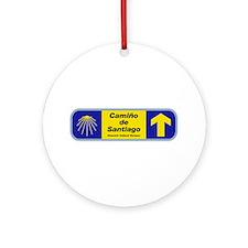 Camino de Santiago, Spain Ornament (Round)