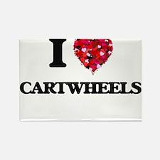 I love Cartwheels Magnets