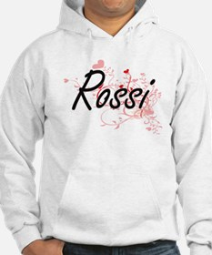 Rossi Artistic Design with Heart Hoodie