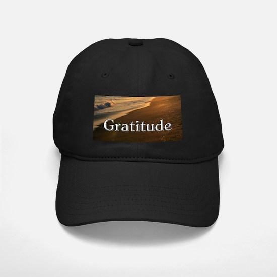 Gratitude Sunset Beach Baseball Hat
