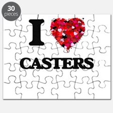 I love Casters Puzzle