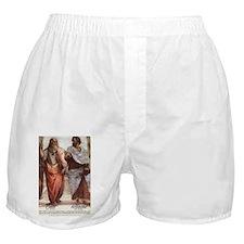 Ancient Greek Philosophy: Aristotle Boxer Shorts