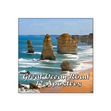 Great Ocean Road and Twelve Ap Sticker