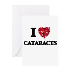 I love Cataracts Greeting Cards