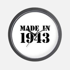 Made in 1943 Wall Clock