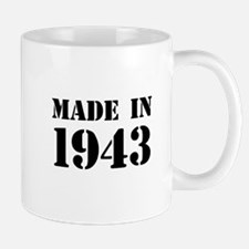 Made in 1943 Mugs