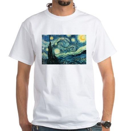 Art Gallery White T-Shirt