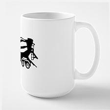 mixer truck Large Mug