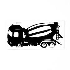 mixer truck Aluminum License Plate