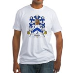 Badet Family Crest  Fitted T-Shirt