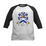Badet Family Crest  Kids Baseball Jersey