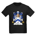 Badet Family Crest  Kids Dark T-Shirt