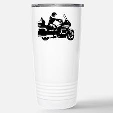 goldwing biker Stainless Steel Travel Mug