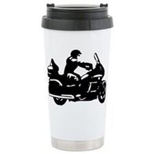 goldwing biker Travel Mug