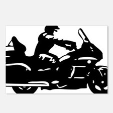 goldwing biker Postcards (Package of 8)