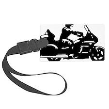 goldwing biker Luggage Tag