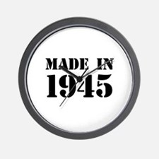 Made in 1945 Wall Clock