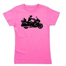 goldwing biker Girl's Tee