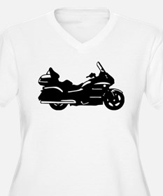 goldwing biker Plus Size T-Shirt